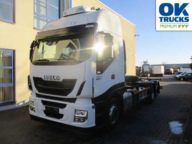 Container Transporter Swap Body Truck Iveco Stralis