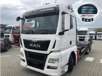 MAN TGX 26.480 6X2 4 LL - container transporter/ swap body truck