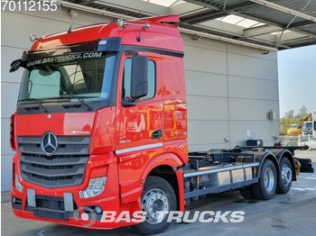 Mercedes-Benz Actros 2543 LS 6X2 Retarder NAVI Liftachse Standklima Euro 6 - container transporter/ swap body truck