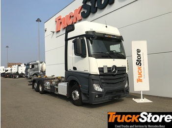 Mercedes-Benz Actros ACTROS 2548 L - container transporter/ swap body truck