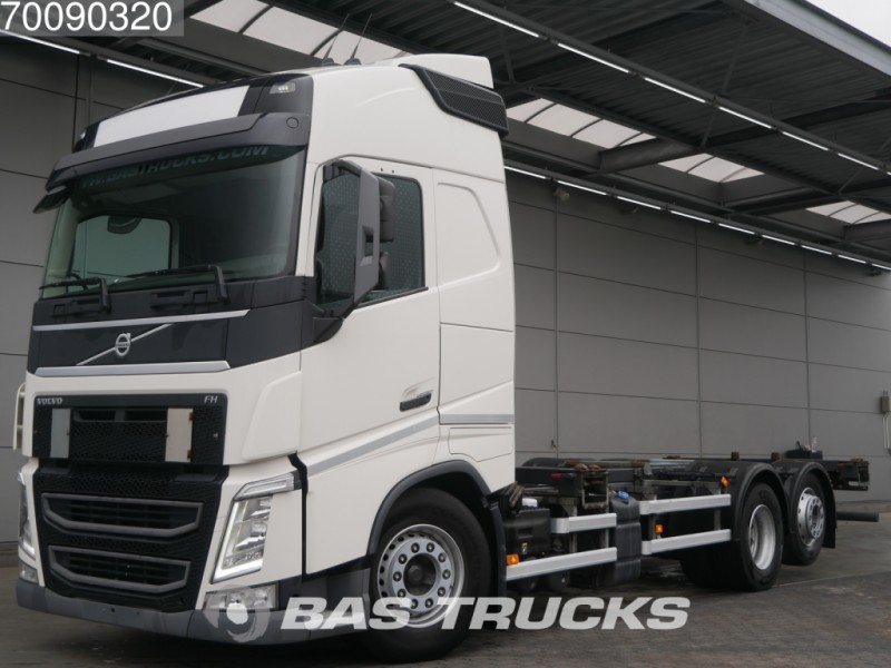 Container Transporter Swap Body Truck Volvo Fh 460 6x2