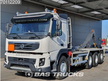 Volvo FMX 460 8X4 Steering-Axle VEB+ Euro 5 - container transporter/ swap body truck