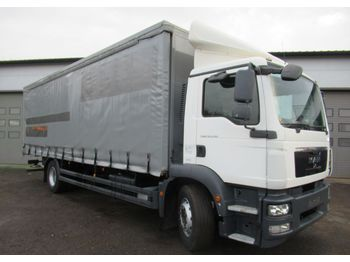 Curtainsider truck MAN TGM 18 290