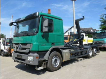 Mercedes-Benz Actros 2546 L 6x2 Abrollkipper  - hook lift truck