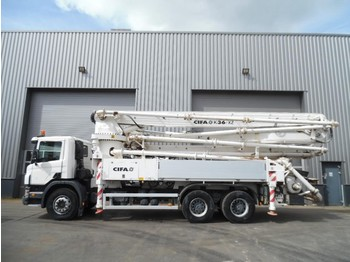 Scania P380 6x4 CIFA K 36 /XZ Concrete Pump 632 hours only! - truck