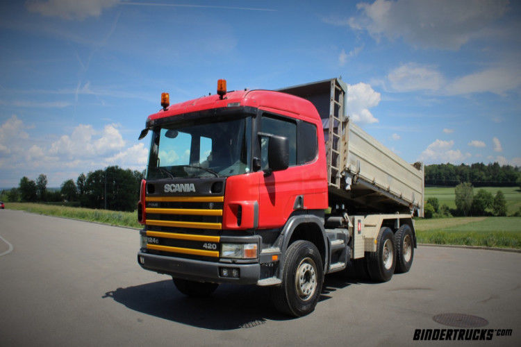 Tipper Scania P124 CB 6x4 HZ , 25354 USD - Truck1 ID - 3035623