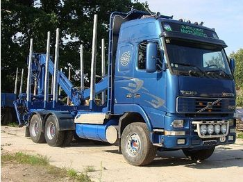Volvo FH 12, 6x4 with crane - truck