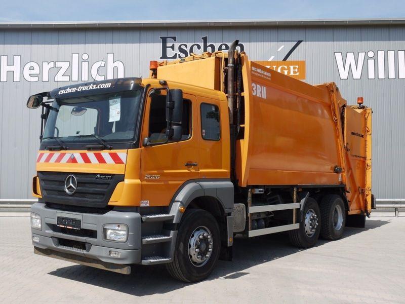 Image result for Mercedes garbage trucks